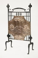 Lot 87 - An Arts and Crafts fire screen