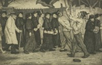Lot 25 - William Strang (1859-1921) SALVATION ARMY Etching