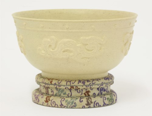 Lot 81-A stoneware bowl