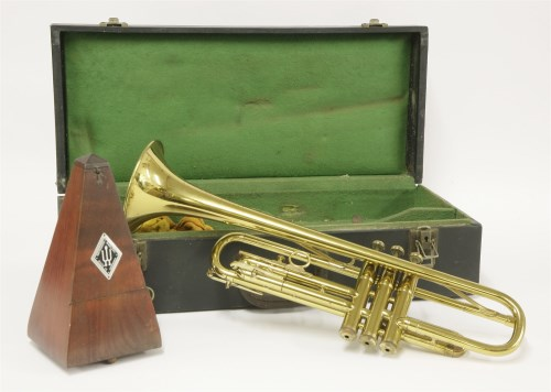 Lot 233-A Martin Committee trumpet