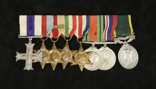 96 - An important World War Two Arnhem Military Cross group of seven