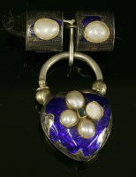 Lot 48 - A Victorian silver and gold