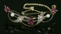 Lot 60 - A late Victorian ruby