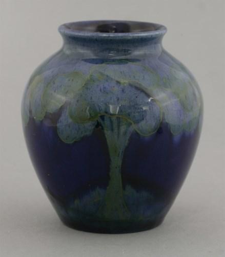 34 - A Moorcroft 'Moonlit Blue' vase