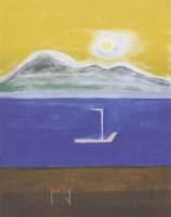 Lot 88 - *Craigie Aitchison RA (1926-2009) 'GOAT FELL'