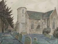 5 - *Edward Bawden RA (1903-1989) ST NICHOLAS'S CHURCH