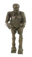 405 - *Sir Eduardo Luigi Paolozzi RA (1924-2005) 'SELF-PORTRAIT WITH A STRANGE MACHINE'  Bronze