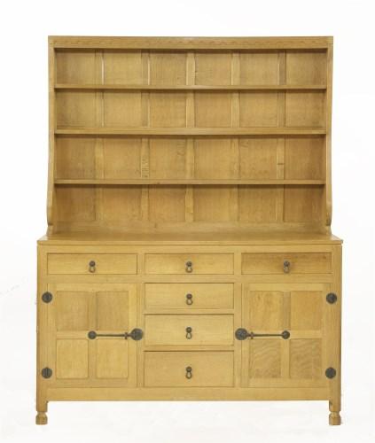 46 - A Robert 'Mouseman' Thompson oak dresser