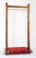 Lot 126 - Two mahogany coat racks