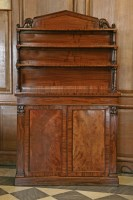 Lot 15 - A William IV mahogany chiffonier