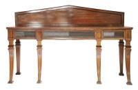 Lot 111 - A Regency mahogany and ebonised sideboard