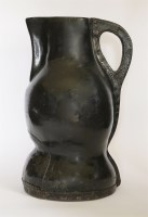 Lot 102 - A large leather 'Black Jack' jug