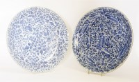 Lot 162 - Two Chinese shallow bowls