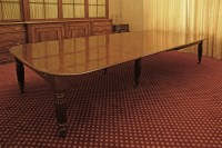 Lot 143 - An early Victorian mahogany extending dining table