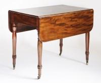 Lot 147 - A Victorian mahogany Pembroke table
