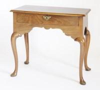 Lot 149 - A George l-style mahogany lowboy