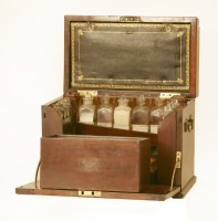 Lot 24 - A large mahogany apothecary's cabinet