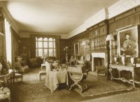 Lot 132 - Nine sepia photographs of North Mymms House