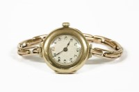 Lot 1028-A ladies 9ct gold Rolex mechanical watch
