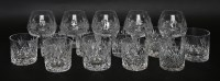 Lot 39 - Five modern brandy glasses