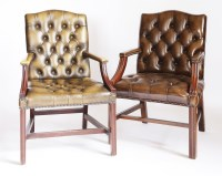 Lot 49 - Two modern library chairs