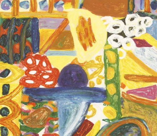 Lot 11-*Gillian Ayres (British