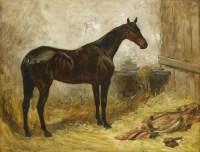 Lot 19-John Emms (1843-1912)  DONNA ELVIRA  Signed and dated 'JNO EMMS 1901' l.l.
