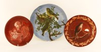 Lot 37-Three pottery dishes