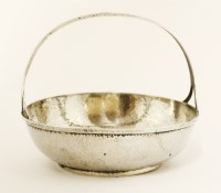 Lot 21-An American Arts and Crafts sterling-silver-handled bowl