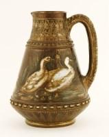 Lot 22-An R W Martin stoneware jug
