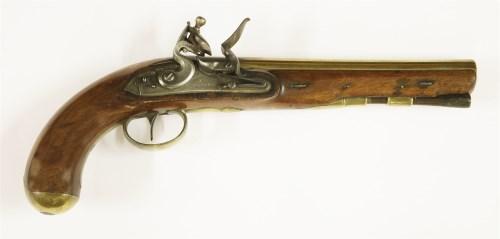 Lot 65-A flintlock pistol