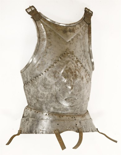 Lot 9-A Milanese breastplate