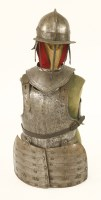 Lot 10-A Cromwellian soldier's armour