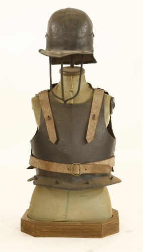 Lot 11-Cromwellian armour