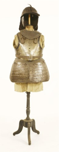 Lot 13-Cromwellian armour