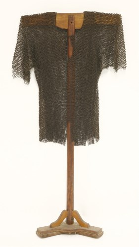 Lot 16-A chainmail shirt