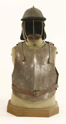 Lot 17-Cromwellian armour