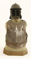 Lot 17-Cromwellian armour
