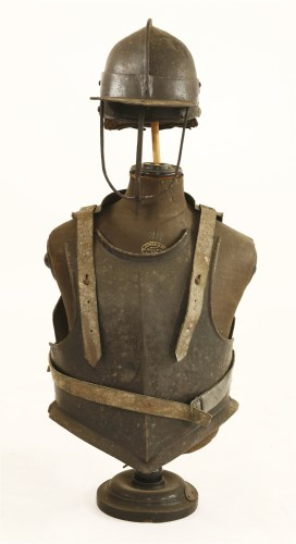 Lot 20-Cromwellian armour