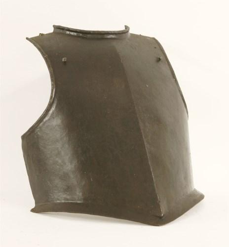 Lot 25-A Cromwellian siege weight breastplate