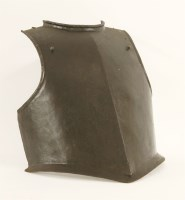 Lot 25-A Cromwellian siege weight breastplate