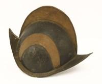 Lot 30-An Italian comb morion helmet