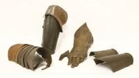 Lot 32-Four armour items
