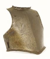 Lot 33-A Cromwellian siege weight breastplate