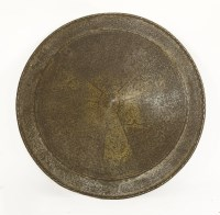 Lot 36-A circular shield or dhal