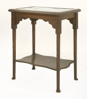 Lot 30-An oak occasional table
