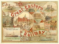 Lot 40-A rare lithographic poster 'Great Eastern Railways'