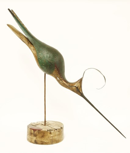 Lot 96-*Guy Taplin (b.1939) LAPWING Signed and titled on underside