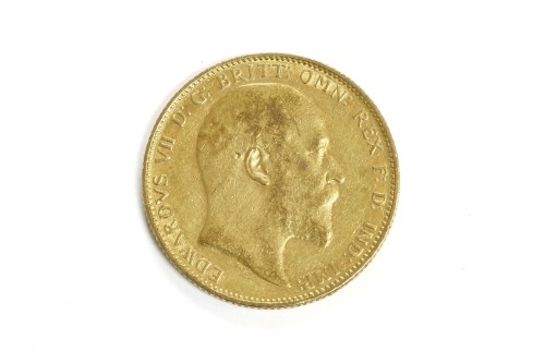 Lot 42-A 1903 full sovereign