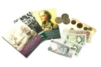 Lot 54C - A collection of coins and bank notes